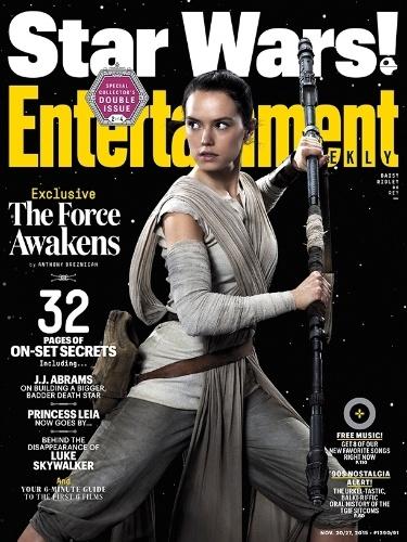 """11.nov.2015 - A atriz Daisy Ridley, que viverá a personagem Rey em """"Star Wars: Episódio VII - O Despertar da Força"""""""
