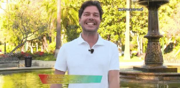 Erik Marmo muda foco de carreira e agora é apresentador fora do Brasil - Reprodução/TV Globo