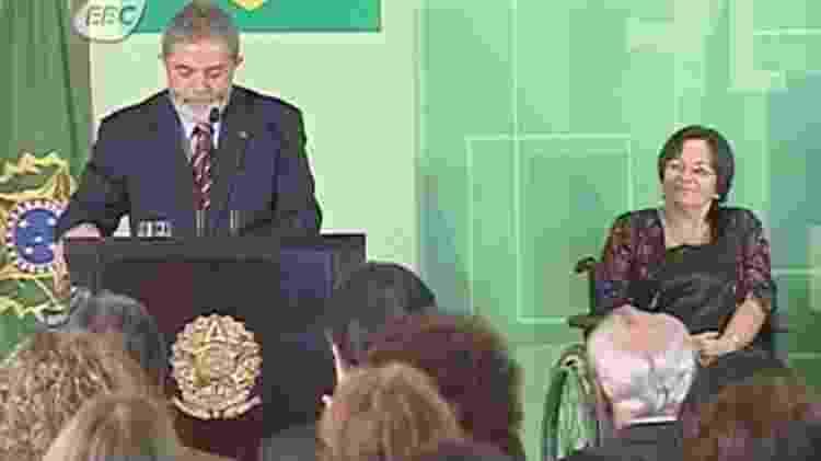 Lei, que, entre outras coisas, elevou penas e determinou a criação de abrigos especiais e delegacias de mulheres permanentes, foi aprovada pelo Congresso em 2006; 'Acho que essa lei deveria se chamar Maria da Penha', disse Lula em cerimônia - EBC/Reprodução - EBC/Reprodução
