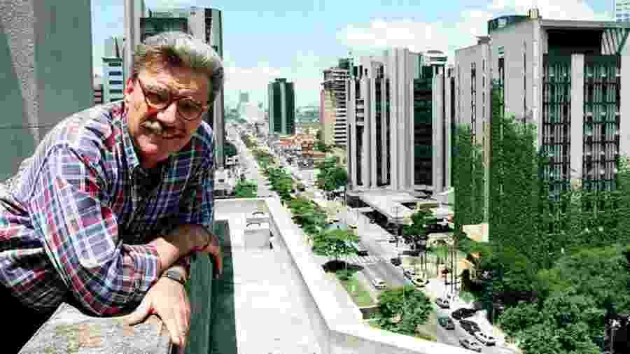 O arquiteto Carlos Bratke construiu mais de 60 edifícios na região da avenida Berrini - Leonardo Colosso/Folhapress