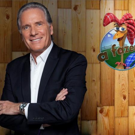 """Roberto Justus deve ser o apresentador da nova temporada de """"A Fazenda"""" - Divulgação"""