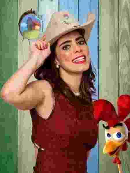 """Heloísa Faissol participou de """"A Fazenda 7"""", em 2014 - Divulgação/TV Record - Divulgação/TV Record"""