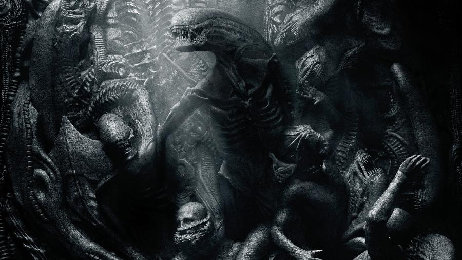 """Arte de """"Alien: Covenant"""" (2017), de Ridley Scott - Divulgação"""