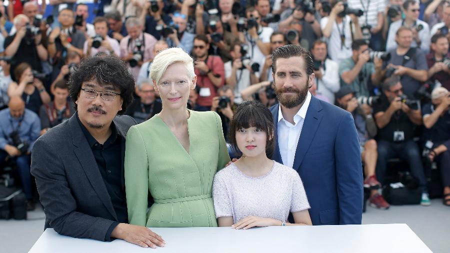 """Netflix levou o filme """"Okja"""" a Cannes em 2017 - Stephane Mahe/Reuters"""