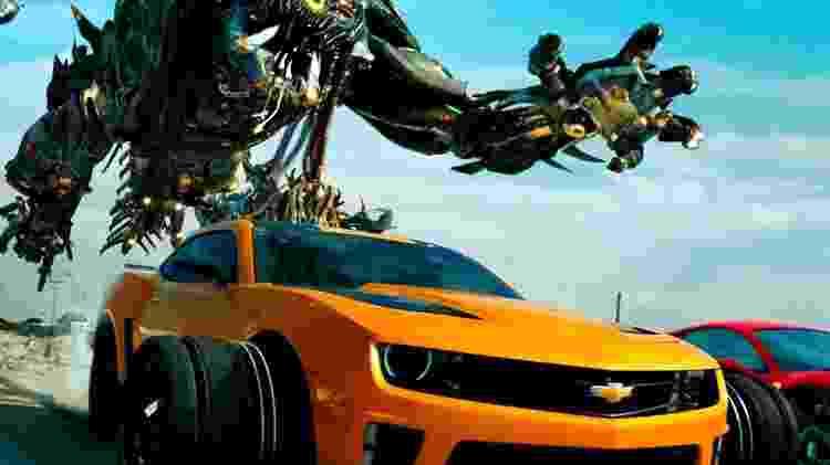 """Cena de """"Transformers: O Lado Oculto da Lua"""" (2011) - Reprodução - Reprodução"""