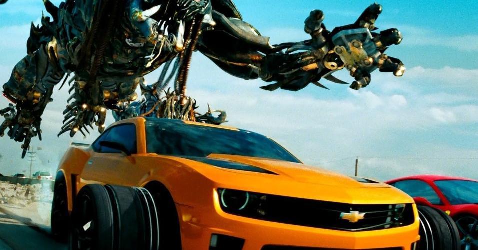 """Cena de """"Transformers: O Lado Oculto da Lua"""" (2011), de Michael Bay"""