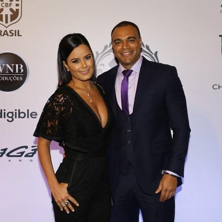 Denílson e Luciele Di Camargo - Manuela Scarpa, Iwi Onodera e Cláudio Augusto/Brazil News