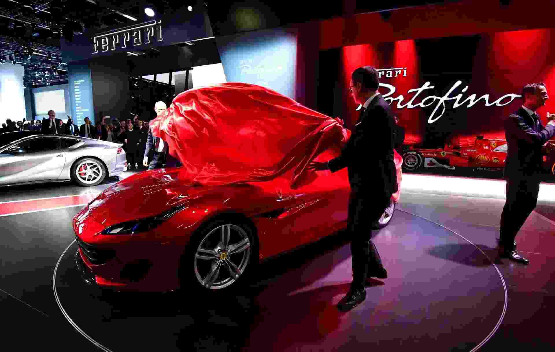 Ferrari Portofino - Tobias Schwarz/AFP Photo