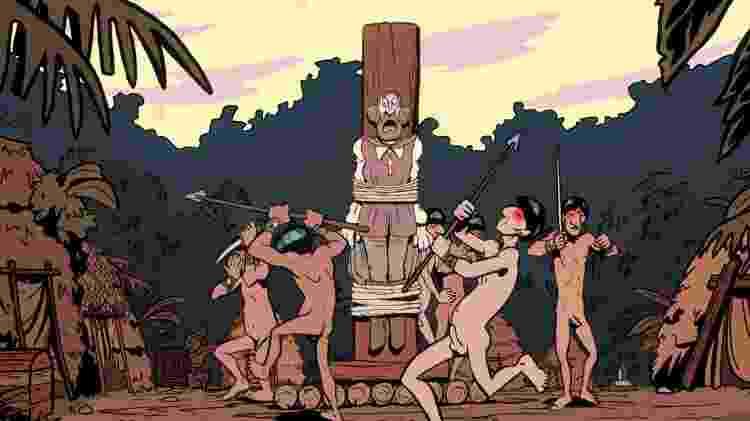 """Cena do filme"""" A Cidade dos Piratas"""", baseado nos Piratas do Tietê - Divulgação - Divulgação"""