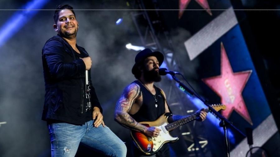 Jorge e Mateus se apresentam no VillaMix Festival São Paulo, no Estádio do Morumbi - Amanda Perolei/UOL