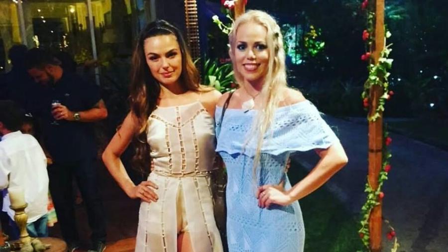 Isis Valverde e Mirella Ferraz - Arquivo Pessoal