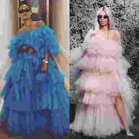 O tule tá com tudo: Rihanna e Kim Kardashian são prova - Reprodução/Instagram