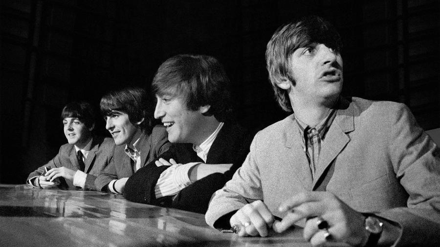 Imagem dos Beatles que faz parte do leilão - Mike Mitchell/Omega Auctions
