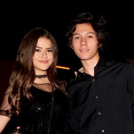 Maisa com o namorado - Manuela Scarpa/Brazil News