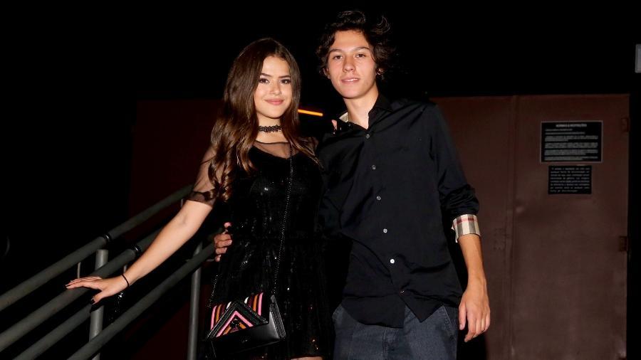 Maisa e o namorado curtem festa de aniversário da irmã do jogador Neymar - Manuela Scarpa/Brazil News