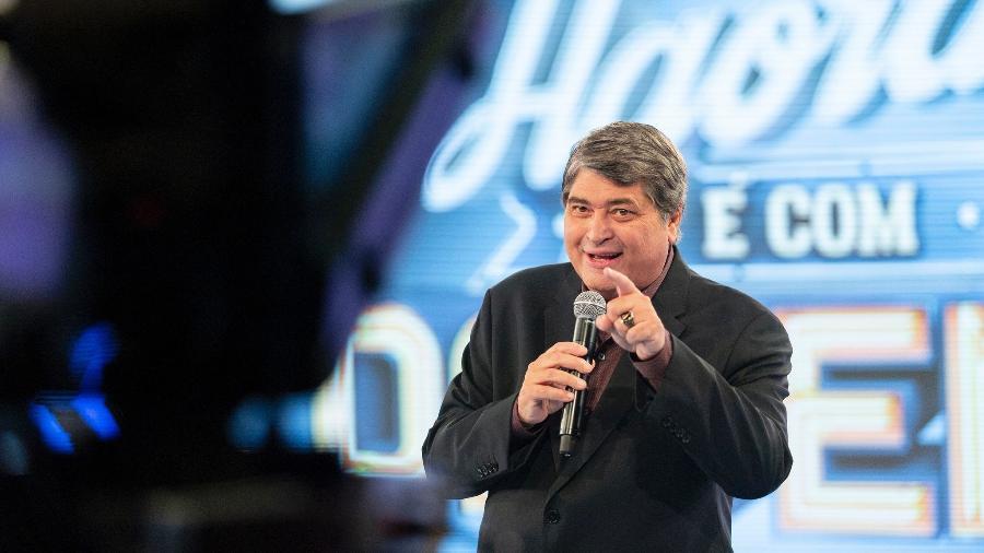 José Luiz Datena será se candidato ao Senado pelo DEM - Kelly Fuzaro/TV Bandeirantes