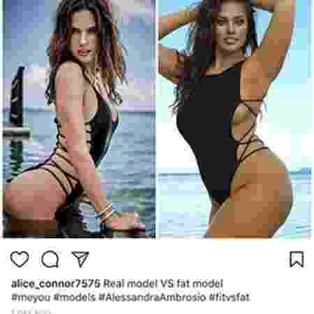 Ashley e Alessandra  - Reprodução/Instagram - Reprodução/Instagram