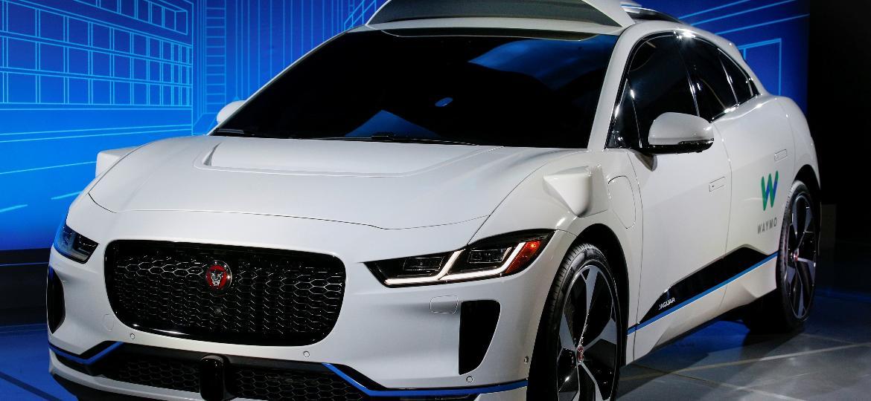 Jaguar i-Pace autônomo do Google: serão 20 mil unidades levando passageiros nos EUA - Brendan McDermid/Reuters