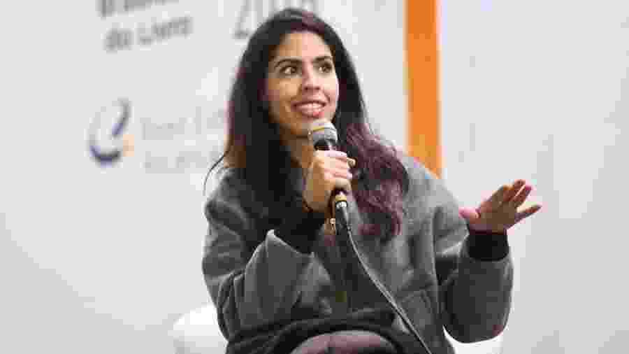 Bela Gil participou de debate na Bienal Internacional do Livro, em São Paulo - Iwi Onodera/UOL