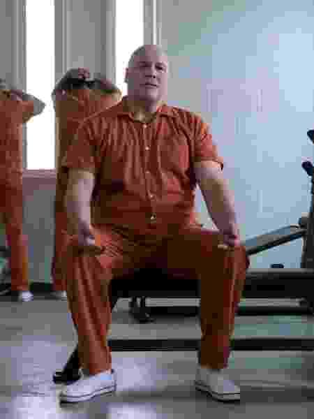 """Wilson Fisk (Vincent D'Onofrio) começa a terceira temporada de """"Demolidor"""" na prisão - David Giesbrecht/Netflix - David Giesbrecht/Netflix"""