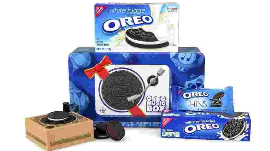 O Oreo Music Box/Cookie Record Player  - Divulgação