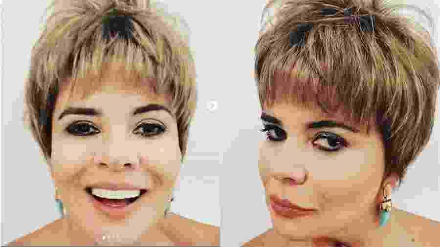 Mara Maravilha usa peruca para homenagear Ana Furtado - Reprodução/Instagram