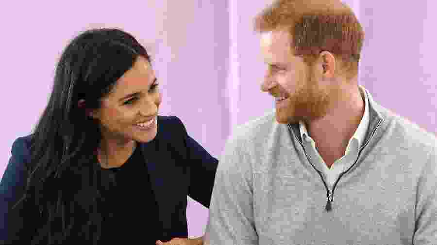 Meghan, a duquesa de Sussex, e o príncipe Harry - Getty Images