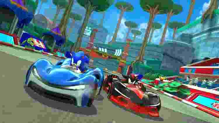 Sonic Team Racing é um dos títulos anunciados para o Apple Arcade - Divulgação