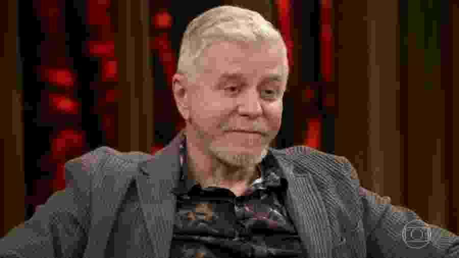 """Miguel Falabella no """"Conversa com Bial"""" - Reprodução/Globo"""
