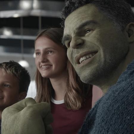 """Hulk (Mark Ruffalo) em cena de """"Vingadores: Ultimato"""" - Reprodução"""