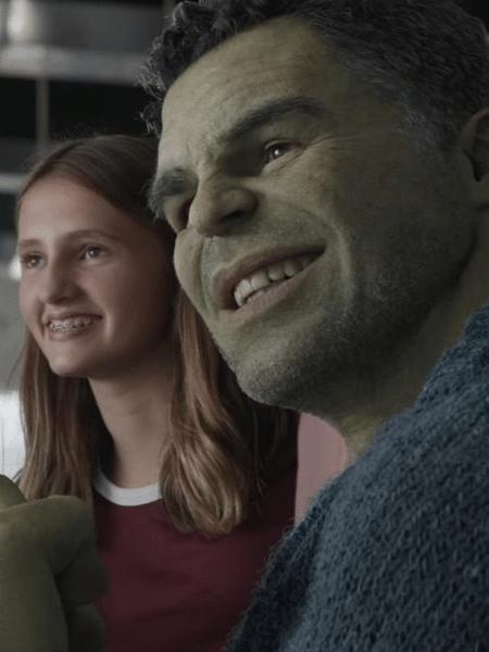 Hulk (Mark Ruffalo) em cena de Vingadores: Ultimato - Reprodução