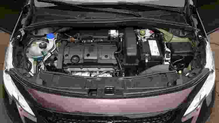 Motor 1.6 16V entrega até 118 cv se abastecido com etanol - Murilo Goes/UOL