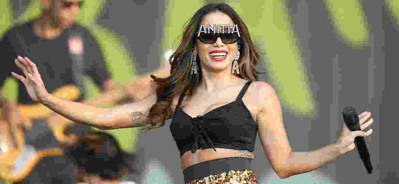 Anitta durante seu show no Rock in Rio Lisboa, em 2018 - Pedro Fiúza/NurPhoto via Getty Images