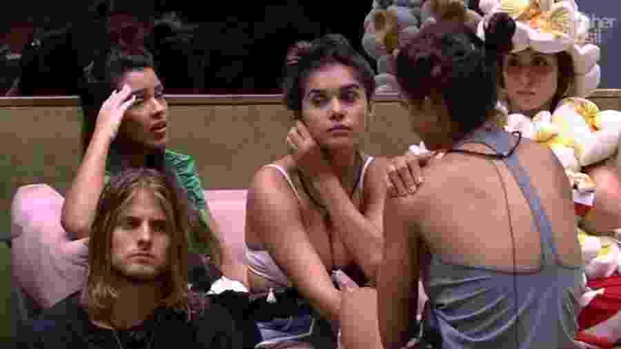 BBB 20: Daniel e sister na sala vip - Reprodução/Globoplay