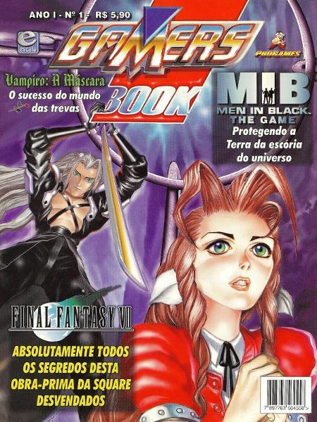 Gamers Book Final Fantasy VII - Reprodução