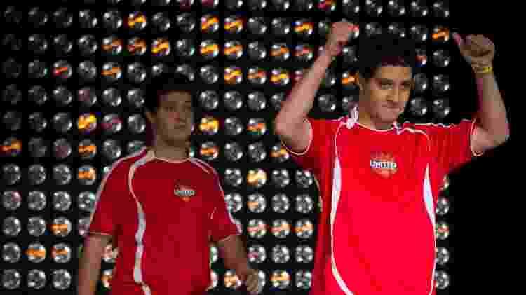 """Guilherme """"Fire"""" Bruno e o topo Michel """"w0lv"""" Bruno - Divulgação/Riot Games - Divulgação/Riot Games"""