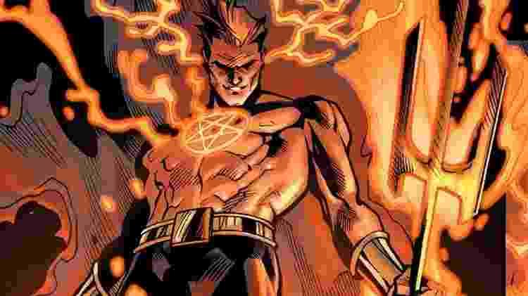 Daimon Hellstrom, o Filho de Satã, nas HQs da Marvel - Reprodução - Reprodução