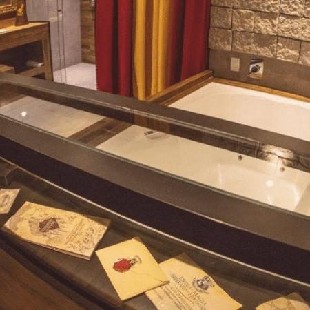 Motel viraliza com suíte do Harry Potter e Hogwarts em versão ...