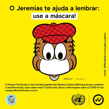 Use máscara - Mônica 4 - Divulgação - Divulgação