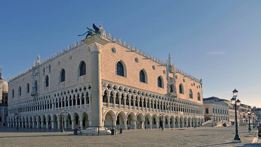 Palácio Ducale em Veneza, na Itália - Getty Images