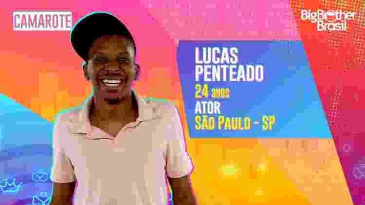 Lucas Penteado, do BBB 21 - Divulgação/Globo - Divulgação/Globo