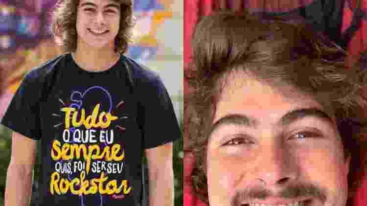 rafael - Fabiano Battaglin / Gshow - Reprodução / Instagram - Fabiano Battaglin / Gshow - Reprodução / Instagram