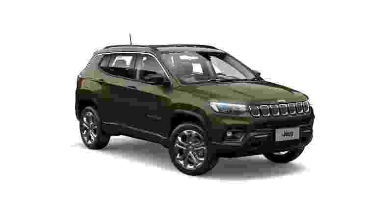 Jeep Compass 2022 com motor diesel antigo Longitude - Divulgação - Divulgação