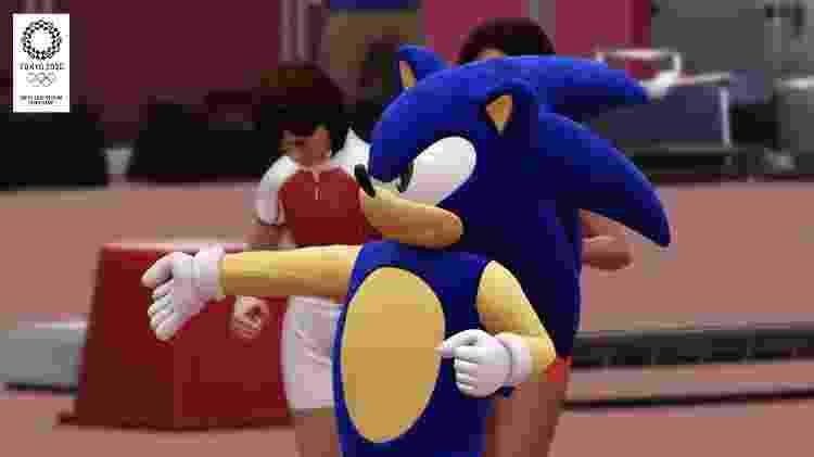 Sonic nas Olimpíadas - Reprodução/YouTube - Reprodução/YouTube