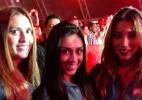 Ex-BBBs Tamires e Talita fazem as pazes e curtem festa juntas - Felipe Abílio/UOL