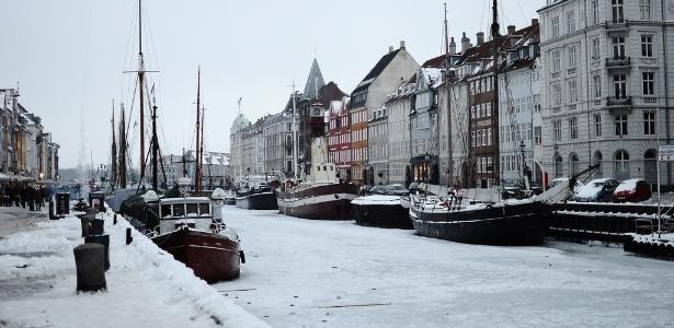 Copenhague, na Dinamarca