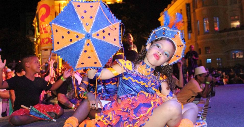 5.fev.2016 - Festa de abertura do Carnaval no Marco Zero na cidade do Recife