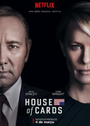 Separados, Frank Underwood e Claire prometem embate na nova temporada  - Divulgação/Netflix
