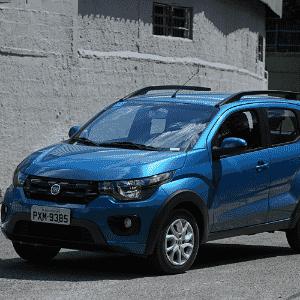Fiat Mobi Way On 2017 - Murilo Góes/UOL