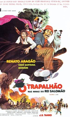 Filme mais visto dos Trapalhões nos cinemas,